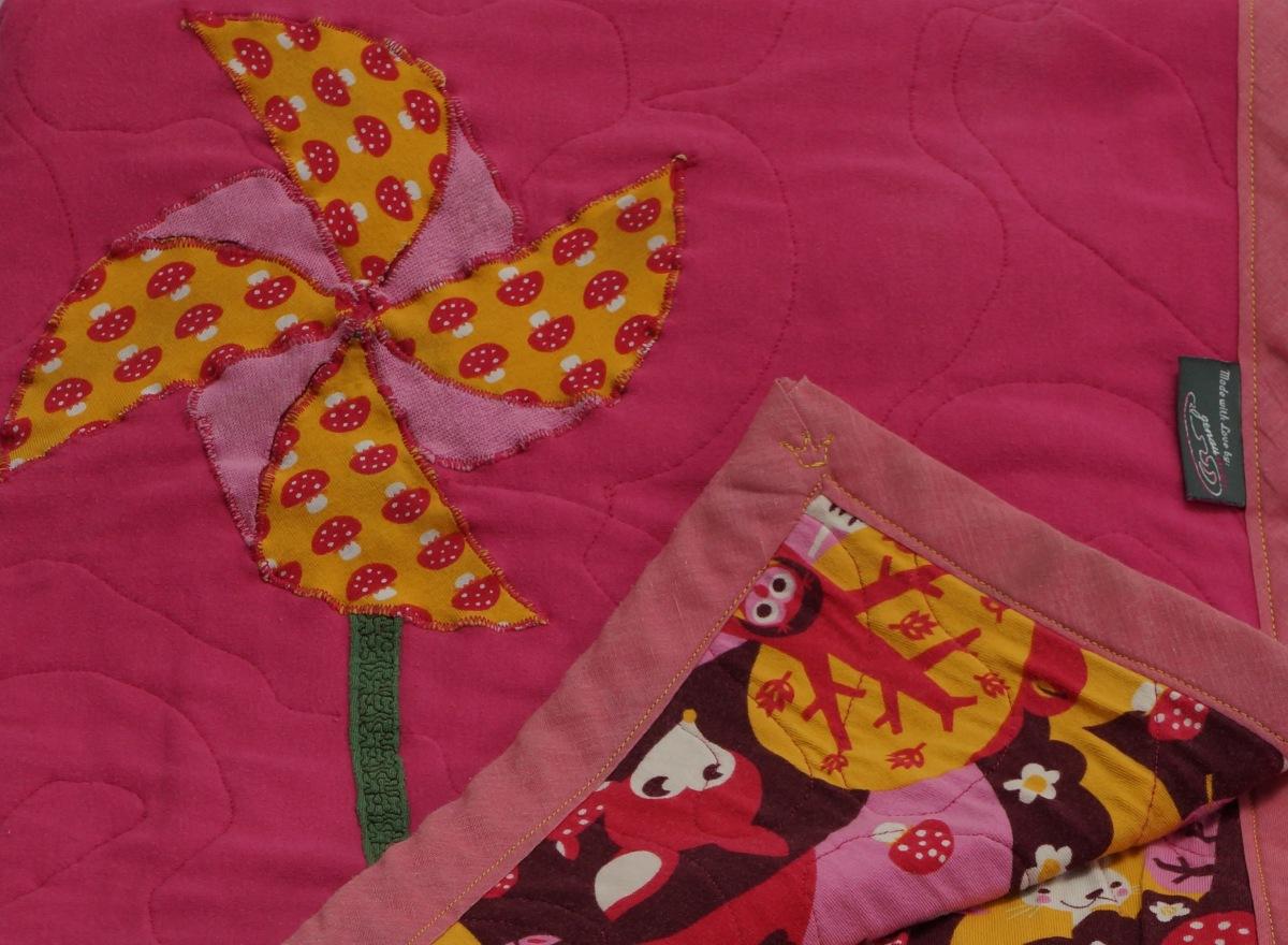 Hili's first blanket